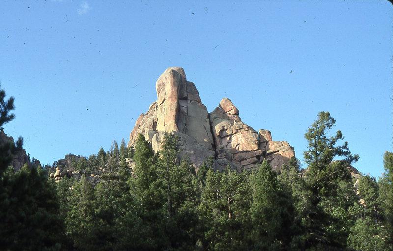Rock Climbing Photo: Cynical Pinnacle. Colorado