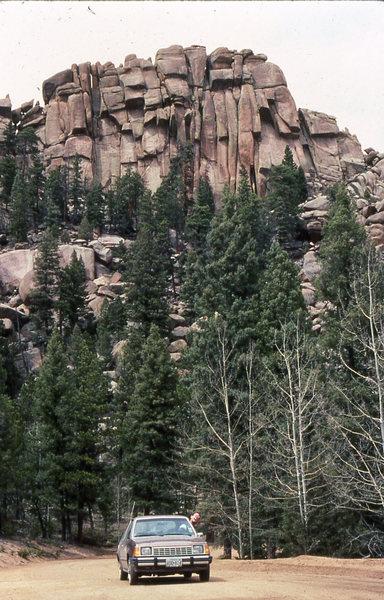 Turkey Rock Colorado