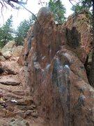 Rock Climbing Photo: The West Fin.