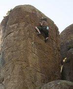 Rock Climbing Photo: Second half of Mustache Mayhem