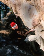 "Rock Climbing Photo: Luke Childers following ""Your Orders.""  ..."