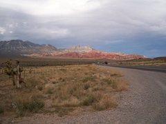 Rock Climbing Photo: leaving Red Rocks