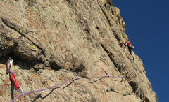 Rock Climbing Photo: Kevin sending p6