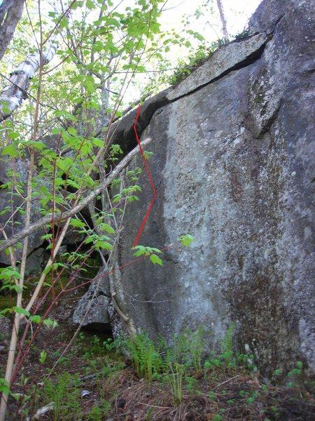Rock Climbing Photo: Up and Coming