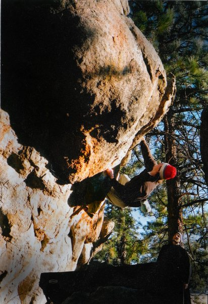"Luke Childers on ""The Captain.""  Gilligan's Island, Three Sisters Park Colorado."