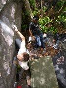 Rock Climbing Photo: Aaron K.- The Gentleman