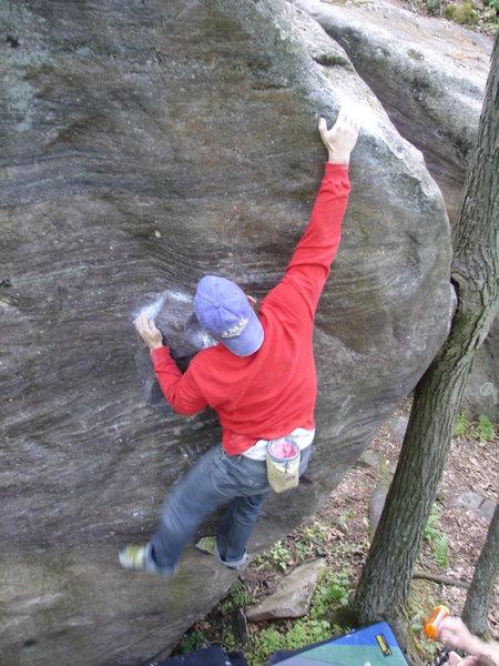 Rock Climbing Photo: Hefty.