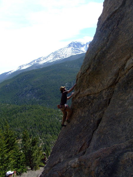 Rock Climbing Photo: Classic View - Mellow Climb.