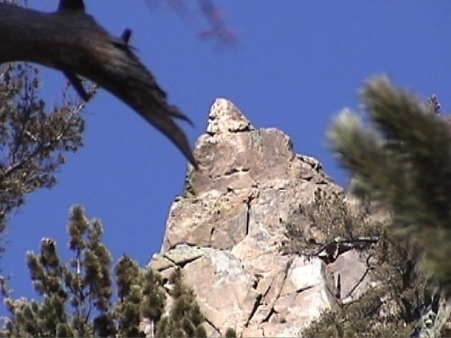 Rock Climbing Photo: Major Cone of Cone Mountain.