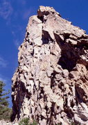 Rock Climbing Photo: Hoorah for RA, Cone Mountain.