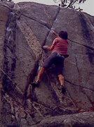Rock Climbing Photo: Bouldering at Cone Mountain, Empire CO.