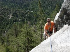 Rock Climbing Photo: Old guys rule! Photo by Scott Nomi.
