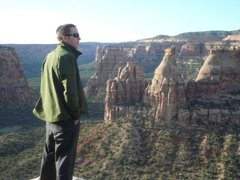 Rock Climbing Photo: Overlook at Colorado National Monument