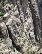 Rock Climbing Photo: Climbers on Casually Off Route, May 20, 2009.  Cli...