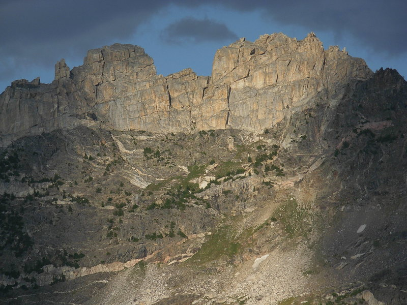 Cleaver Peak from the west.