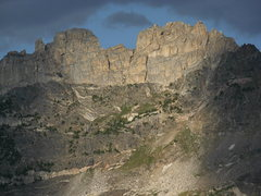 Rock Climbing Photo: Cleaver Peak from the west.