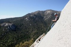 Rock Climbing Photo: Finishing off Coffin Nail ... and taking a slight ...