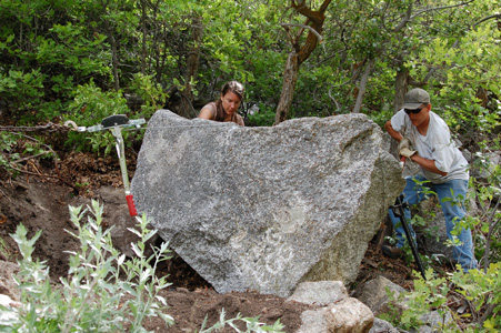 Rock Climbing Photo: Moving the rock_3