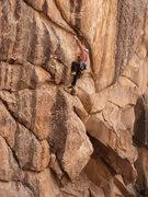 Rock Climbing Photo: David Russell sorting it out on Bandu.