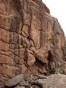 Rock Climbing Photo: Mr. Russell on Bandu.