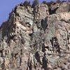 Halidome headwalls, a face climber's dream.