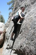 Rock Climbing Photo: Agina on Benevolent Bruin 5.8   1 of 3