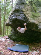 Rock Climbing Photo: Marco on Ingenious Machine of Man
