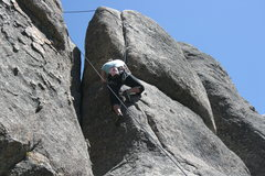 Rock Climbing Photo: Agina on Gravity Kills 5.10a 2 of 2