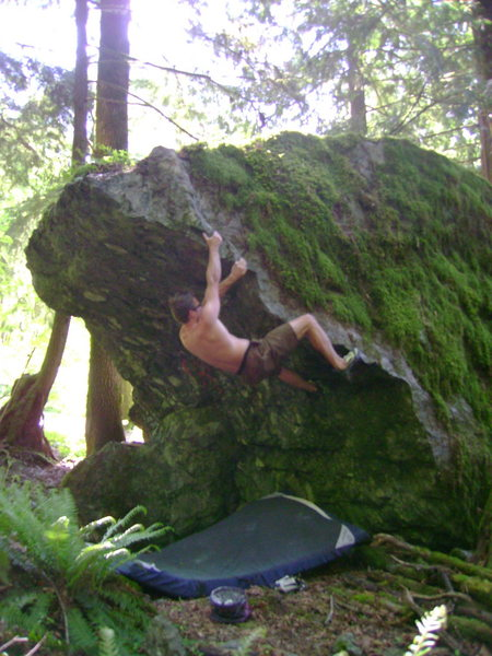 Nate Woods on The Deer Hunter V3, Russian Roullette Boulder