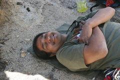 Rock Climbing Photo: Or is he?