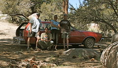 Rock Climbing Photo: The Crew Bill, Albert, Agina and Nathan and the Pi...