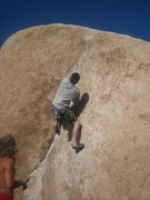 Rock Climbing Photo: Trying out the Chube.