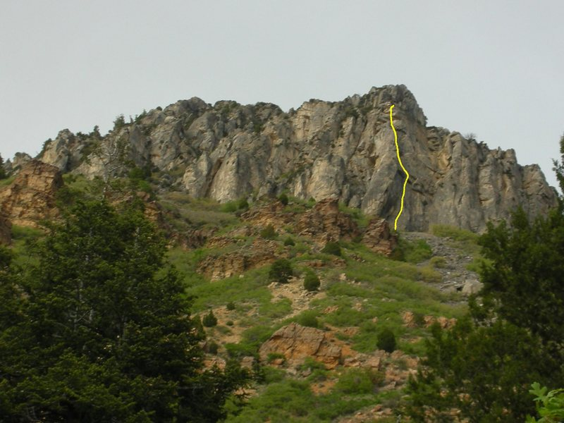 Rock Climbing Photo: The Zephyr line.