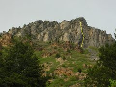 Rock Climbing Photo: The Zephyr line.
