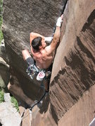 Rock Climbing Photo: Reid on The Prow.