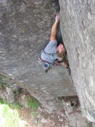 Rock Climbing Photo: Gomoll sends Davidson's Dihedral.