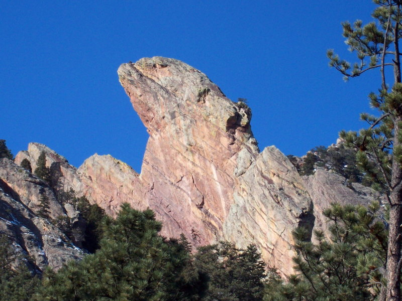 South Face of the Maiden.