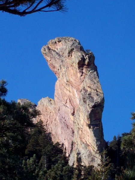 The incredible Maiden formation of the Flatiron's of Boulder, Colorado.
