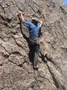 Rock Climbing Photo: Rock climbing sure is fun.