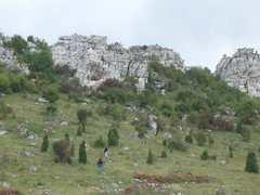 Rock Climbing Photo: Area near Spis Castle