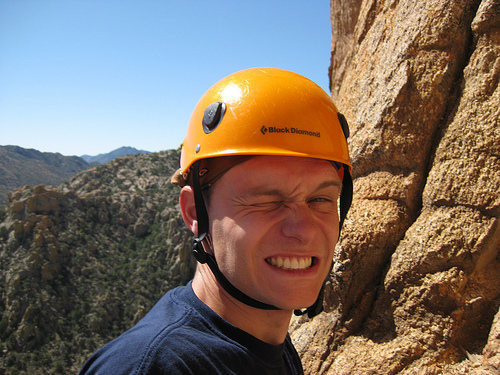 Rock Climbing Photo: Sunglasses anyone?