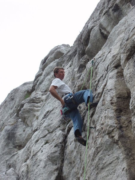 Rock Climbing Photo: Jubilejna 6a