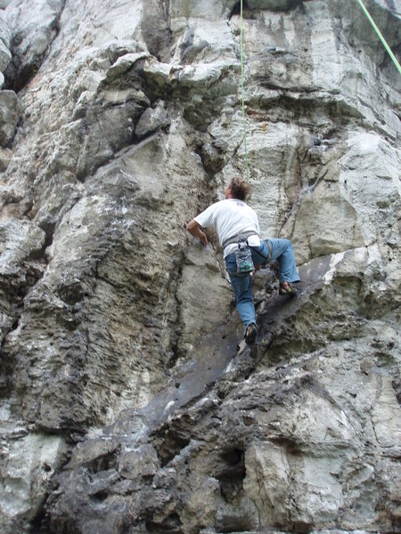 Rock Climbing Photo: Nocna Mora 6b?