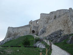 Rock Climbing Photo: Spis Castle