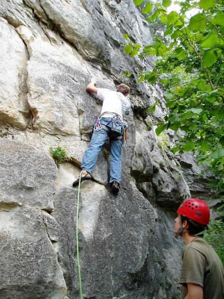 Rock Climbing Photo: ok, so far