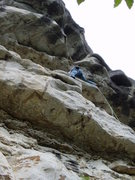 Rock Climbing Photo: Vlado failed to mention he's only aided this secti...