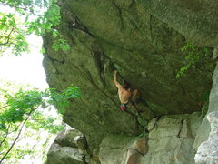Rock Climbing Photo: getting into the meat of Kansas City.