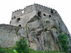 Rock Climbing Photo: Kamieniec Castle, near Przadki, South Eastern Pola...