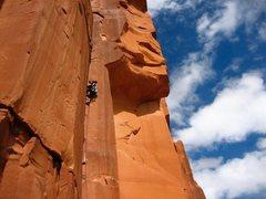 Rock Climbing Photo: beautiful thin hands in a corner!