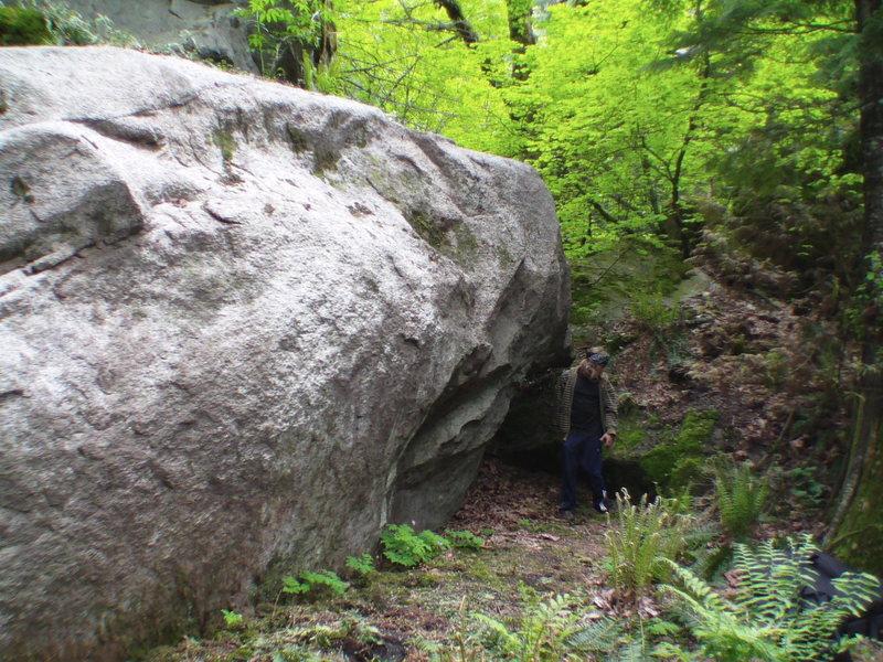 Rock Climbing Photo: The Wave Boulder